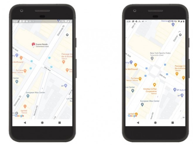 google map got feature update