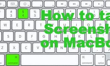how to take screenshot on macbook