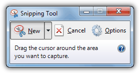 how to take screen shot with snipping tool