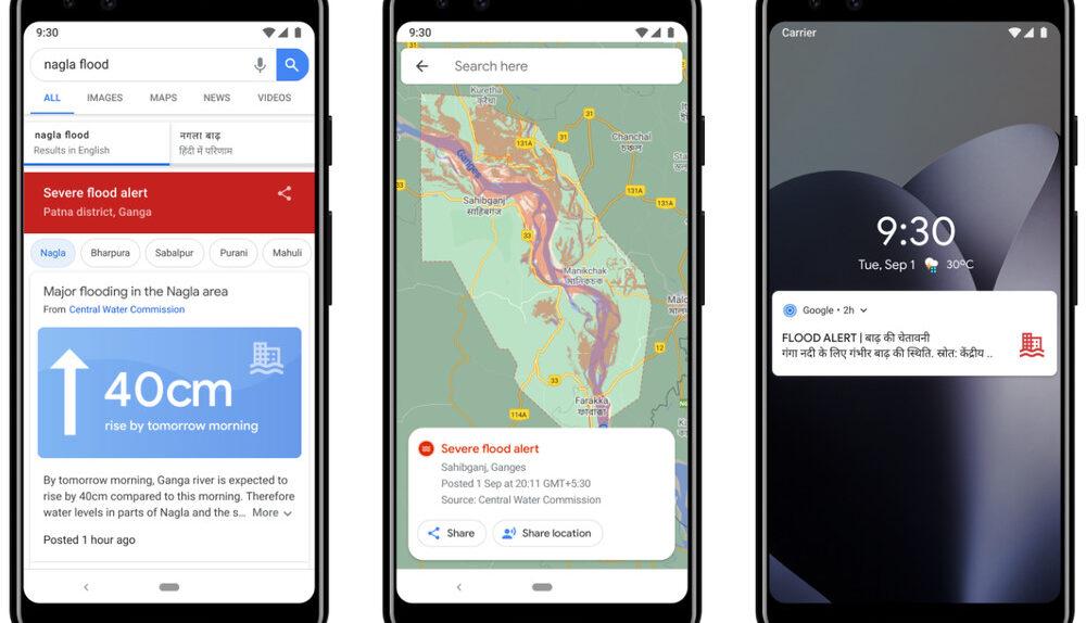 Google AI Flood prediction
