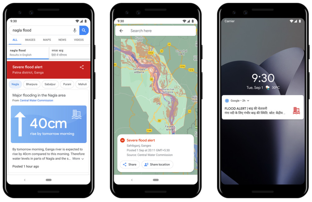New Google AI Flood Prediction App with 75% Precision